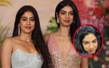 Khushi Turns Janhvi Kapoor's Muse; Actress Does Perfect Eye Make-Up For Baby Sister- Watch Video