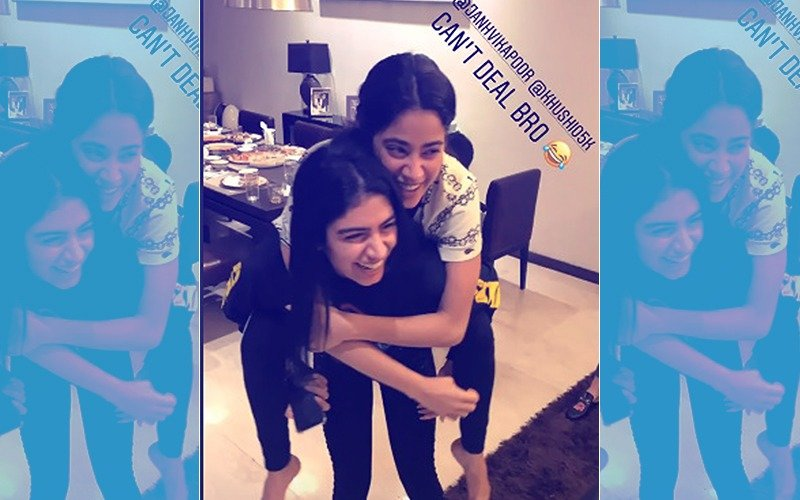 Janhvi Kapoor Piggybacking On Khushi Is The Cutest Thing You Will See Today