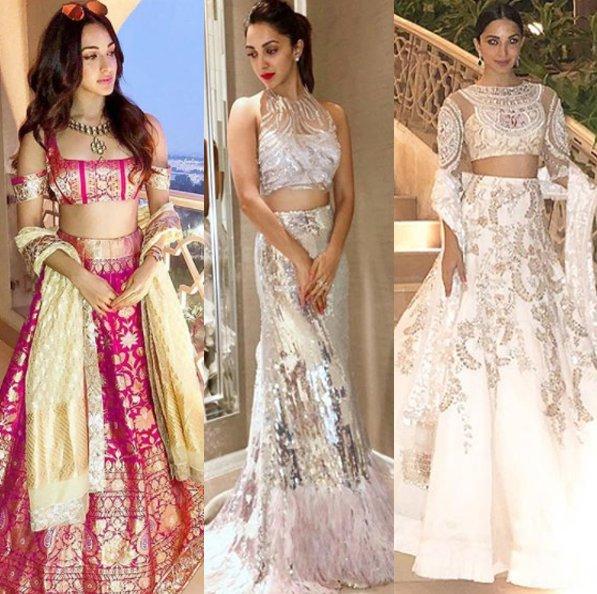 kiara advani at mohit marwah wedding