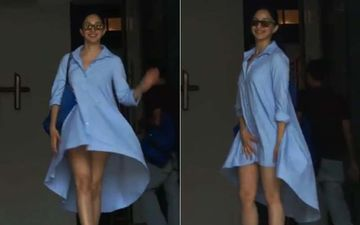 Kiara Advani Saves Herself From An Oops Moment - Watch Video