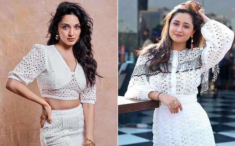 Kiara Advani And Rashami Desai Make Boring White Sexy But Who Werked It Better?