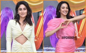 Good Newwz Trailer Launch: Kareena Kapoor Khan And Kiara Advani Are Bombs In Pastel Shades!