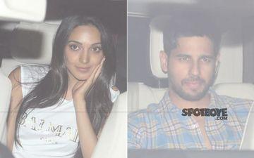 Lovebirds Sidharth Malhotra And Kiara Advani Sneak-In A Date At Karan Johar's House - PICS