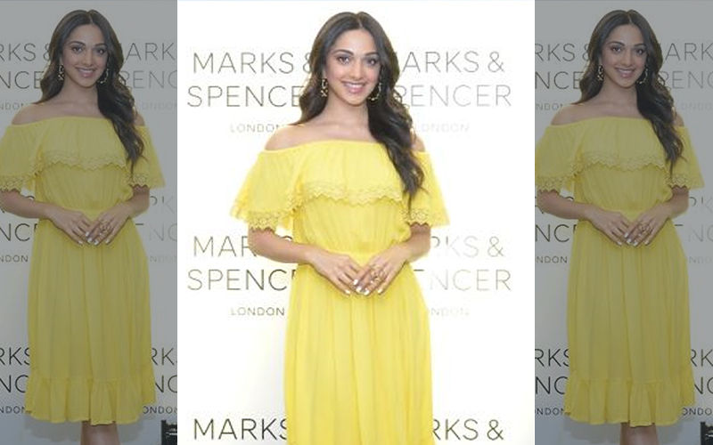 Kiara Advani Just Made This Summer Hotter In Her Stunning Sun Gold Layered-Lace Dress