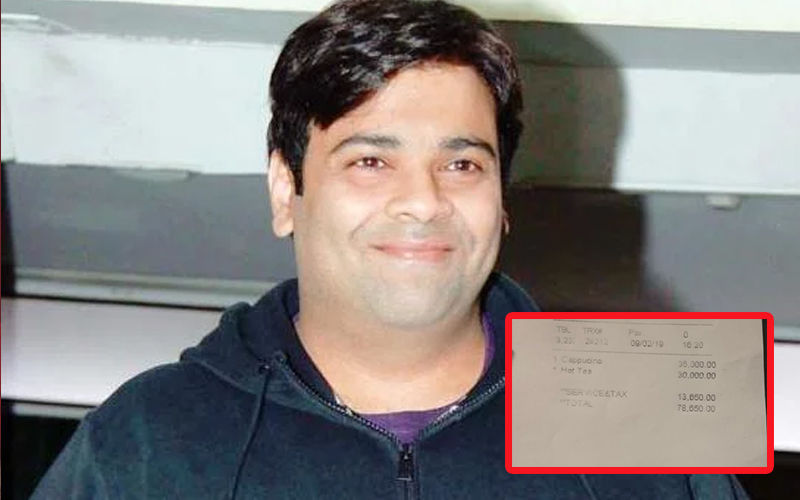 After Rahul Bose, Kiku Sharda Charged A Staggering Amount Of 78,650 For A Cup Of Tea And Coffee