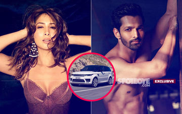 Kim Sharma's New Car-nama With Boyfriend Harshvardhan Rane
