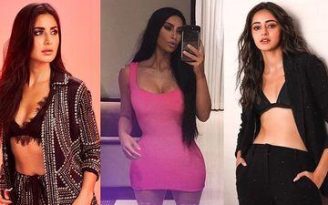 Kim Kardashian Inspires Ananya Panday And Katrina Kaif As The Duo Try The Bra Under Blazer Trend