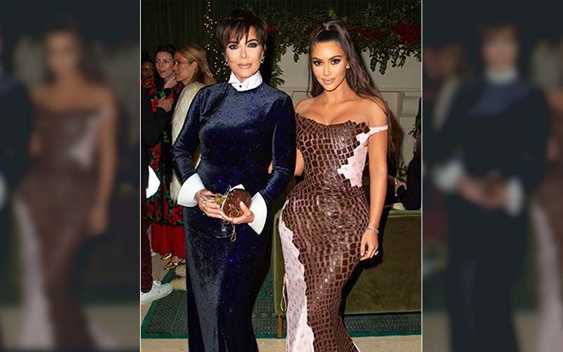 Kim Kardashian Shares Her Circa 1996 Prom Night Photo Along With Kris Jenner; Fans Are Going Gaga Over Her Eyebrows