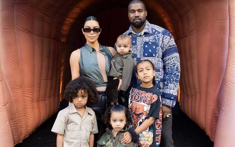Billionaire Kanye West Gives Mama Kim Kardashian Break From Daily Life; Takes Kids To Wyoming For A Three-Day Trip