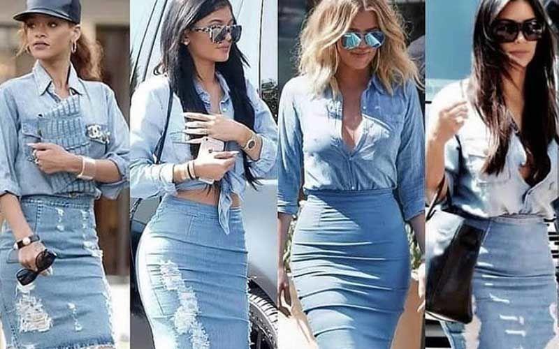 Rihanna, Kylie Jenner, Kim Kardashian, Khloe Rock Denim-On-Denim; Whose Look Was An Epic Fail?
