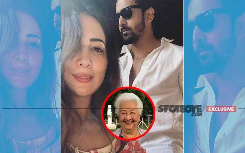 Kim Sharma's Mother Meets Her Daughter's Darling, Harshvardhan Rane