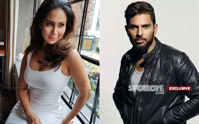 Kim Sharma's Warm Gesture For Ex Yuvraj Singh As He Announces Retirement