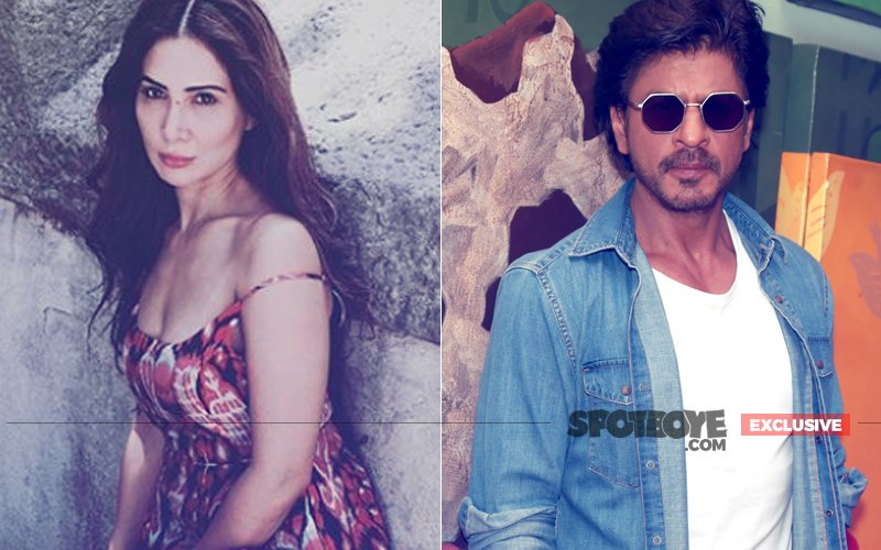 Kim Sharma Wants To Produce A Movie Starring Mohabbatein Co-Star Shah Rukh Khan?