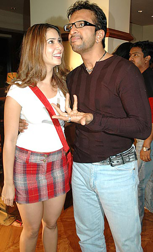kim sharma with javed jaffri