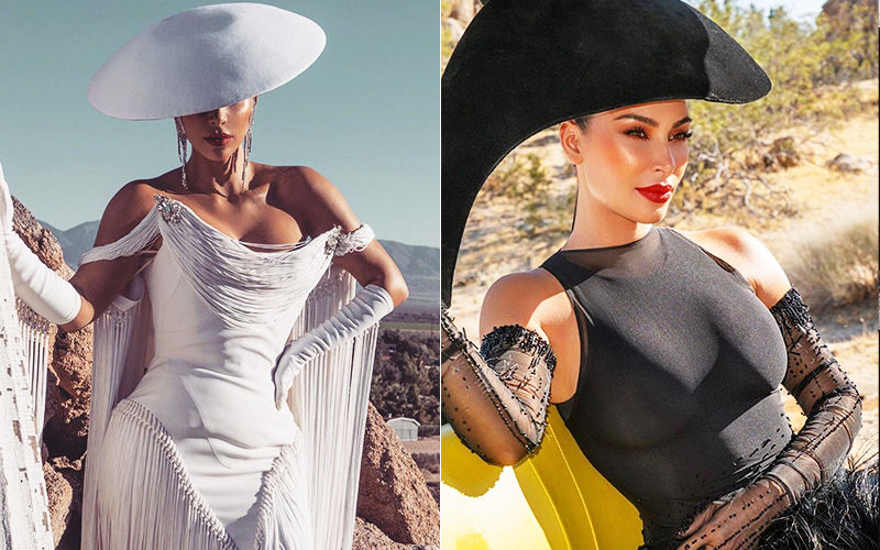 Kim Kardashian Is A Sultry Goddess In These BTS Pictures From Her Vogue Arabia Cover Shoot