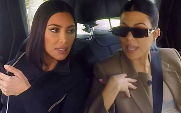Kim Kardashian's Fight With Sister Kourtney To Turn VIOLENT On KUWTK, 'I Might Need An Attorney'