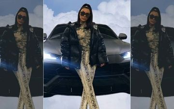 Kim Kardashian Posts Pic With Car On Photoshopped Clouds, 'Looks Like A Hood Obituary,' Say Fans