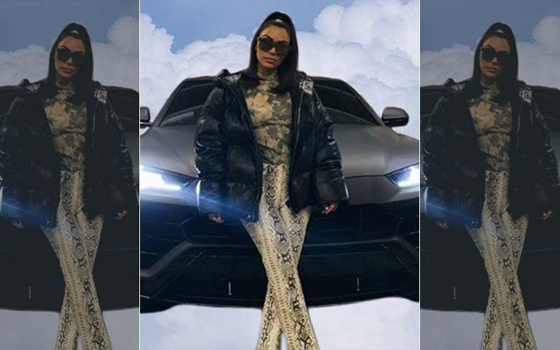Kim Kardashian Posts Pic With Car On Photoshopped Clouds, 'Looks Like A Hood Obituary,' Say Fans