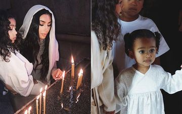Kim Kardashian And Her Children Get New Names At Armenian Baptism