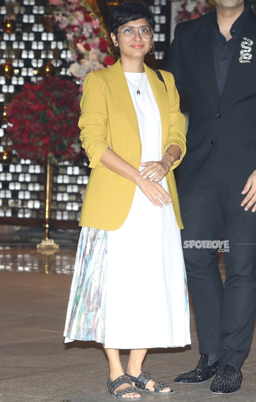 kiran rao at akash ambani engagement bash