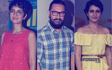 Kiran Rao SLAMS Rumours About Aamir Khan Recommending Fatima Sana Shaikh For Thugs Of Hindostan