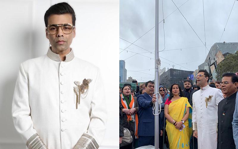 IFFM 2019: Karan Johar Chants 'Jai Hind' As He Hoists The Indian Flag In Melbourne