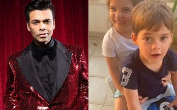 Coronavirus Lockdown: Karan Johar Sings Yeh Dosti From Sholay As His Twins Go On A Bike Ride; Roohi Hilariously Shuts Him Up - WATCH