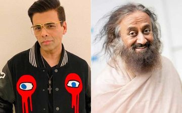Karan Johar To Host Heart To Heart's Inaugural Episode With Spiritual Guru Sri Sri Ravi Shankar