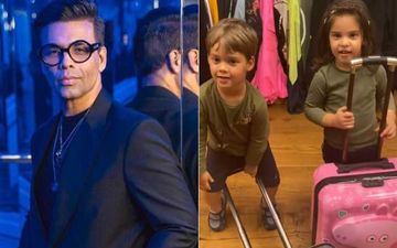 KJo's Twins Yash And Roohi Johar Have Their Bags Packed And Are Ready To Leave The House As They Are 'FED UP' – Video