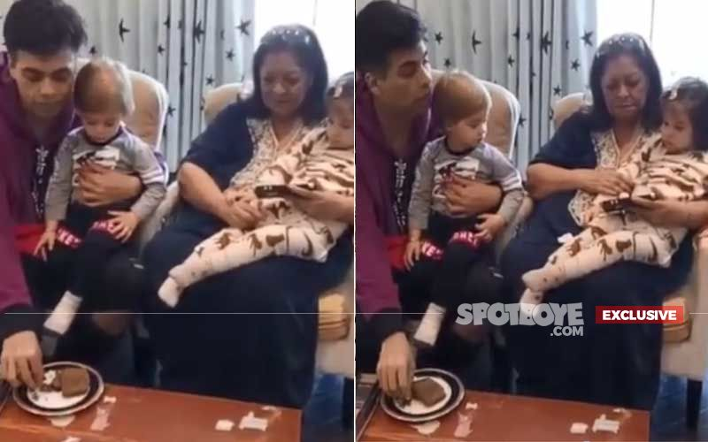 Karan Johar's Twins Yash And Roohi Turn 2: Watch Exclusive Cake-Cutting Video