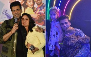 Karan Johar Says 'Yash Is Camera Shy Like Me,' But Goes On To Flirt With Cams At Good Newwz Trailer Launch