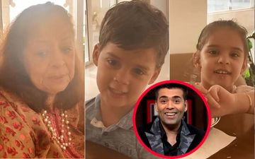 Karan Johar's Sartorial Choices DISAPPROVED By His Twins Once Again, His Mom Hiroo Johar Adds 'It's Too Much Bling'-WATCH