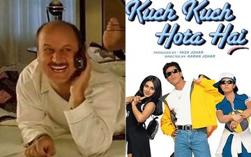 22 Years Of Kuch Kuch Hota Hai: Anupam Kher Says 'Hum Bhi The Film Mein Dost' As Dharma Productions Forgets To Tag Him In Celebratory Post