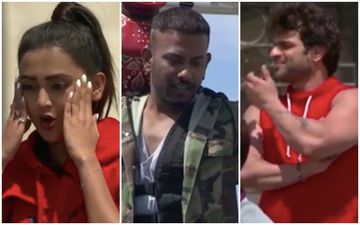 Khatron Ke Khiladi 10: Tejasswi Prakash Gets A New Partner, Says 'It's Not Cool'; Dharmesh-Karan Patel Are Petrified