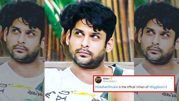 Bigg Boss 13: Netizens Call Sidharth Shukla 'Villain Of The House' After He Comes Close To Hitting Mahira Sharma