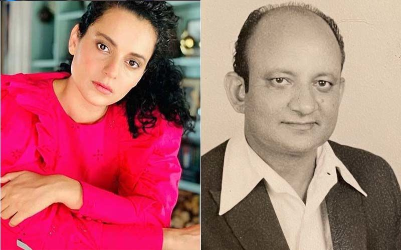 Kangana Ranaut's Grandfather Passes Away In Manali; Actress Pens A Note Remembering Him And His Impeccable Sense Of Humour