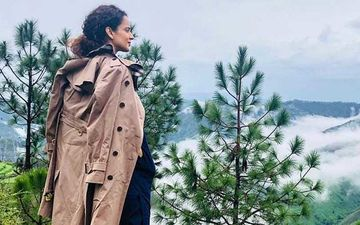 Kangana Ranaut Seems To Be Soaking In Manali One Last Time Before She Jets Off To Mumbai - Watch Video