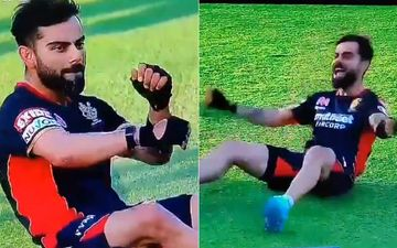 IPL 2020: Virat Kohli Breaks Into A Warm-Up Dance Before The Match; Triggers Hilarious Memes: 'Kohli's Solo Dance That Never Made It To His Sangeet'