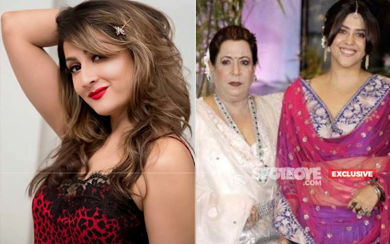 Urvashi Dholakia Aka Komolika Reveals She Used To Wear Ekta Kapoor's Mom's Blouses At Times For Kasautii Zindagii Kay-EXCLUSIVE