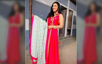 Kranti Redkar Looks Like A Siren Of Hotness In This Red Ethnic Ensemble
