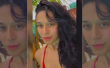 Tiger Shroff's Sister Krishna Shroff Raises Temperature In Bikini; Well, Her Brush Time Is Not As Boring As Yours