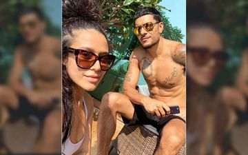 Krishna Shroff Chills With Her Beau Eban Hyams Flaunting His Hot Bod In This Hot Mumbai Climate, Amidst Coronavirus Lockdown