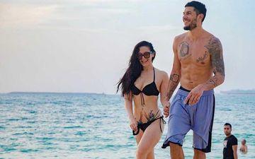 Tiger Shroff's Sister Krishna Shroff Flaunts Her Curves In A Skinny Bikini; Kisses Boyfriend Eban By The Pool