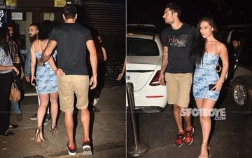 Krishna Shroff And Boyfriend Eban Hyams Openly Flirt With Each Other On Date Night In Mumbai