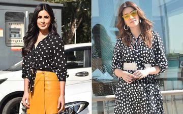Polka Dot Face-Off: Katrina Kaif And Kriti Sanon – Who Pulls Off The Retro Style Like A Queen?