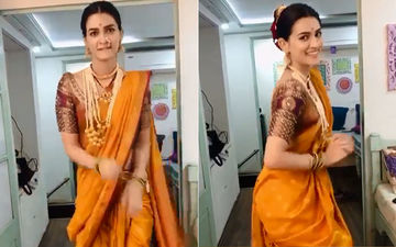 Panipat's Parvati Bai Aka Kriti Sanon Dances On Coca Cola Song But With A Perfect Marathi Flavour – VIDEO