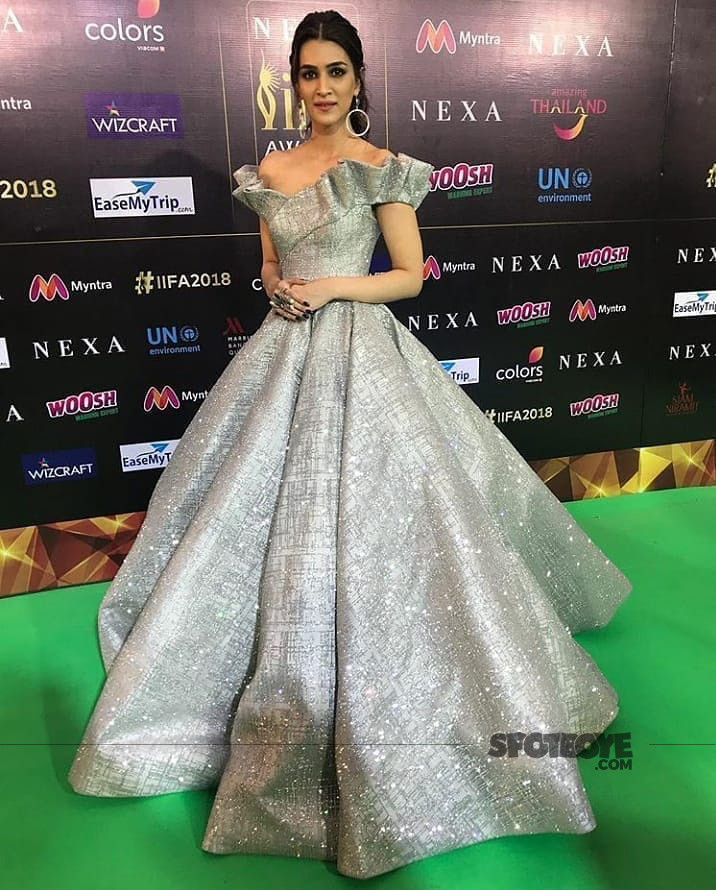 kriti sanon at iifa awards 2018