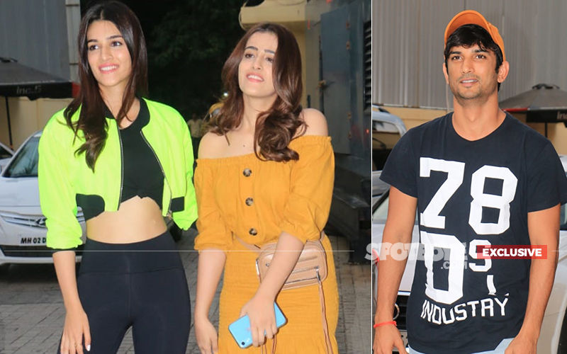 Kriti Sanon Bumps Into Ex-Boyfriend Sushant Singh Rajput In A Multiplex