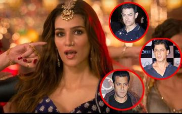 "Kriti Sanon On Item Songs: ""When Aamir, SRK, Salman Perform A Special Song, They're Never Called Item Numbers"""