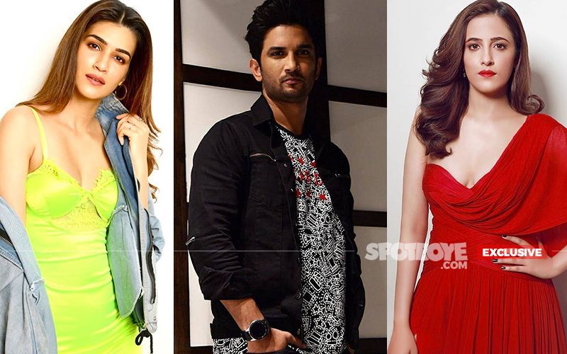 Kriti Sanon's Ex-Boyfriend Sushant Singh Rajput And Her Sister Nupur To Star In A Film Together?- EXCLUSIVE